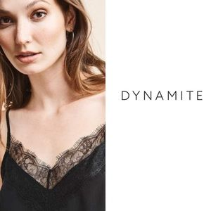 Dynamite Stripped Camisole